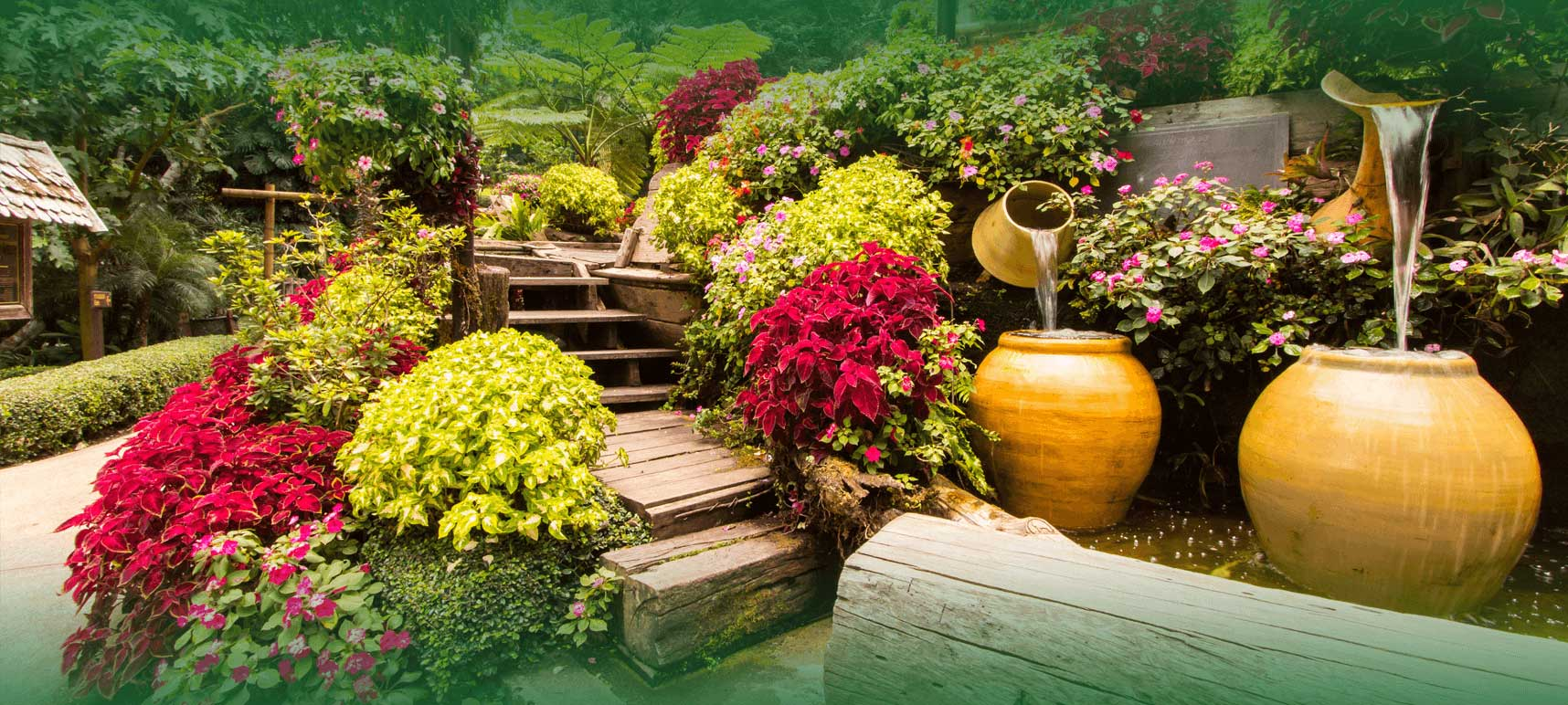 Professional garden and lawn landscaping services in for Home garden design in pakistan